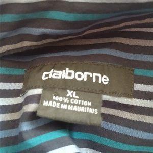 Claiborne Shirts - Claiborne Men's Long Sleeved Dress Shirt